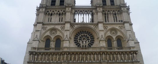 First day in Paris – Notre Dame, Marché Bastille